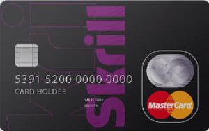 SKRILL tarjeta Mastercard