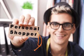 trabajar de personal shopper