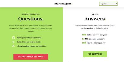 Las encuestas pagadas de Marketagent