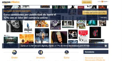 Mediante Amazon Afiliados