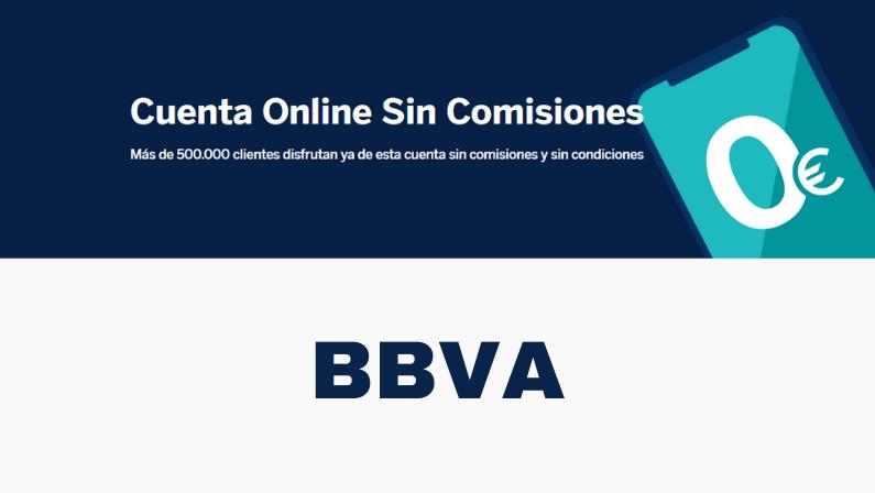 Cuenta Online sin Comisiones BBVA