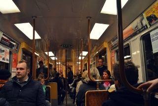 Usa el transporte público