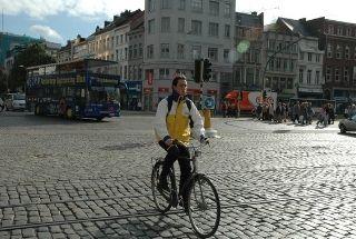Emplea una bici para ir al trabajo