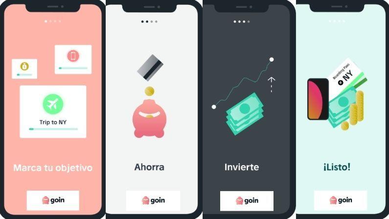 GOIN APP La mejor aplicación para ahorrar e invertir